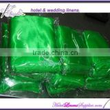 light green cheap chair sashes, light green satin sashes for special events, wedding chair covers