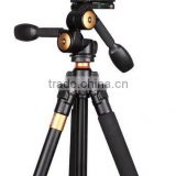 Q470 Photographic Tripod for DSLR & Video & Camcorder Camera 1540MM height 15KG load Hanheld 3 Axis gimbal panhead tripod stand                                                                         Quality Choice