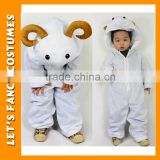 PGCC-2649 Animals costume sheep costume for children fancy dress cute girl halloween costume wholesale