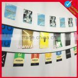 single sided printing Factory OEM string banner flags