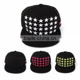 [P249-P251] 28STAR 100% COTTON 4 kinds of fancy color snapback hats fashionable trendy embroidery worked clearance sale