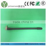 Yetnorson good quality indoor omni 3g/4G LTE rubber antenna with right angle crc9 connector
