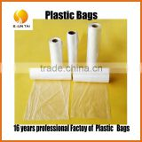 food grade biodegradable PE flat clear poly bags sealing machine