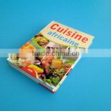 Custom offset printing perfect bound color cook book for children