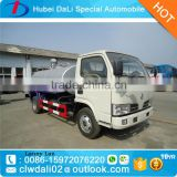 Hot sale 3000L Dongfeng 4*2 vacuum fecal suction tank truck