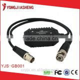 High Performance Coaxial Balun CCTV Video anit-interference equipment long range transceiver YJS-GB001