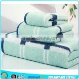 100% cotton custom pattern jacquard towel manufacturer jacquard hotel towel set wholesale