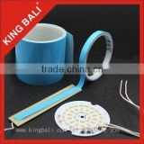King Bali 2600 Blue Pre-cut Double Side Adhesive Insulation Thermal Conductive Tape Rolls or Sheets