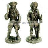 Pewter Medieval Soldier,Antique Soldier Statues                                                                         Quality Choice