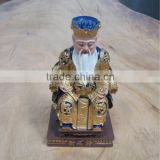 Resin Mini God of Wealth figurine, Fengshui products, Fengshui ornaments