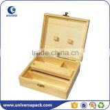 Unique good quality gift bamboo wood box with lock                                                                         Quality Choice