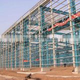 Steel structure prefabricated warehouse/office/homes/workshop/poutry shed/chicken house/garager/project