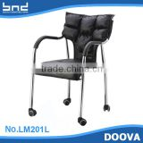modern best selling metal leg office chair with wheels