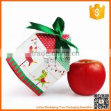 Environmental material popular design santa candy packaging christmas gift boxes wholesale