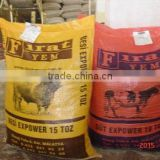 high quality cheap price PP WOVEN BAG , 25kg 50kg pp woven flour ,wheat,corn,and feed bag