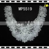 2013 Swiss chiffon flower lace trim