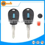 transponder key fob with uncut balde can not be seperate with logo plastic material for fiat stilo doblo ducato panda grande