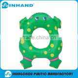 2016 High Quality China made ASTM Eco-friendly Green Cute Baby Swimming Ring/inflatable swim ring/inflatable wrestling ring