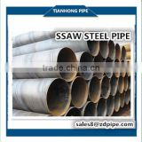 API 5L Q235B SSAW/Submerged Arc Welded Mild Steel Pipe for pilling,oil,water transmission