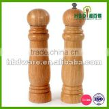 High quality bamboo pepper mill and salt shaker