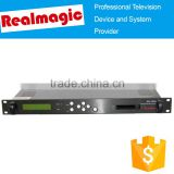 Professional broadcasting head end device DVB-T/T2 IRD satellite receiver