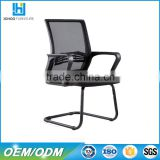 Boss Office Products Executive Mid-Back Mesh Guest Reception Chair Black