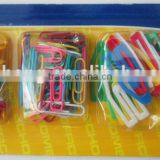 stationery set pins& clips&bands