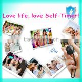 New arrival Wireless Bluetooth Remote Shutter mini camera self-timer for Android 4.2 Phone 10m Distance