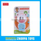 Musical kids electronic baby mobile phone toy
