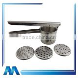 stainless steel vegetable ricer potato chipper