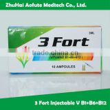 Vitamin B1+B6+B12 for injection OEM available
