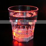 multi color change LED luminous glass plastic cup cup tumbler drinkware for KTV Bar promotion