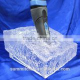 Shaver cosmetic product table display stands acrylic ice block