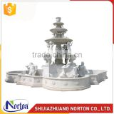 Europen article stone water marble fountain for decoration NTMF-006LI