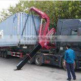 SINOTRUK Lateral Loading And Unloading Container Transport