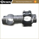 Tactical 25mm & 20mm Flashlight & Laser scope Barrel Ring Mount