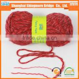China supplier wholesale wool acrylic blended fancy yarn for knitting sacrf with cheap price