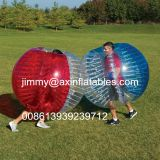 Cheap price 1.0mm transparent PVC/TPU inflatable ball games,bubble soccer,football bumper ball for adults sale