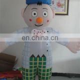 2015 Promotion New Clown Theme Inflatable Moving Cartoon