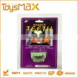 Funny halloween plastic false teeth toy