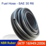 NBR Fuel Hoses Oil Hoses SAE 30 R6 R7 Oil resistant Nitrile/PVC blended rubber China Manufacturers Suppliers