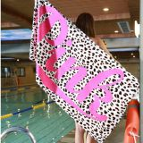 Pink Soft Cotton Beach Towel Travel Swimming Bath Towel Yoga Office Sofa Blanket Wall Tapestry