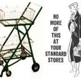Shopping carts were ignored in their infancy
