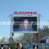 electronic road signs P16 outdoor full color led advertising electronic road signs from liyi China
