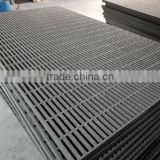 GRP/FRP ASTM-84 off-shore Plastic anti-corrosion moltruded walkway grating/sheet with anti-slippery gritted surface