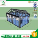 Lowest Price Foshan Wanjia Customized Oem Aluminum Low Cost Garden House                                                                         Quality Choice