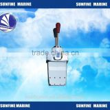 Marine Engine Twin throttle control lever Taiwan Type for Boat/Yachet