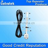 China Lintratek New 8dBi yagi antenna gsm 3g 850/900MHz Cell phone Signal Booster Repeater Outdoor Directional Yagi Antenna