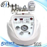 wholesale beauty supply 3 in 1 multifunction diamond microdermabrasion ultrasound and hot & cold hammer beauty salon equipment