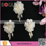 BOKA embroidery small beaded flower patch for decoration